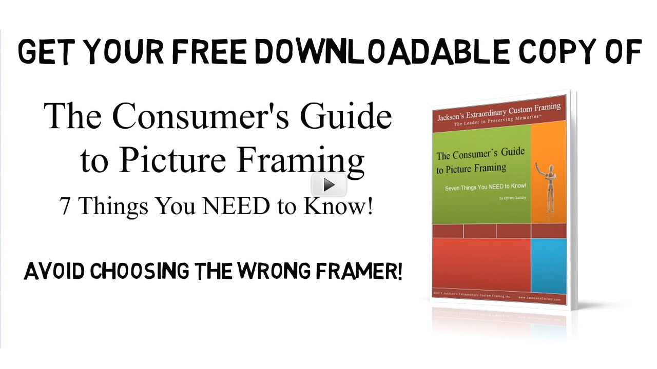 Get Your Copy of The Consumer\'s Guide to Picture Framing: 7 Things ...